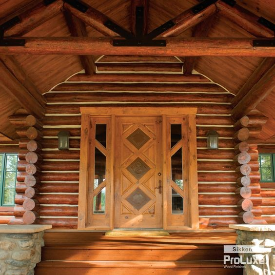 Sikkens proluxe cetol log and siding stain for How to stain log cabin