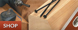 Seal out the elements with log home fasteners.